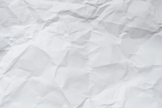 Paper texture. white crumpled paper background. Photo ...