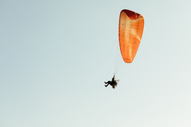 Paragliding Premium Photo
