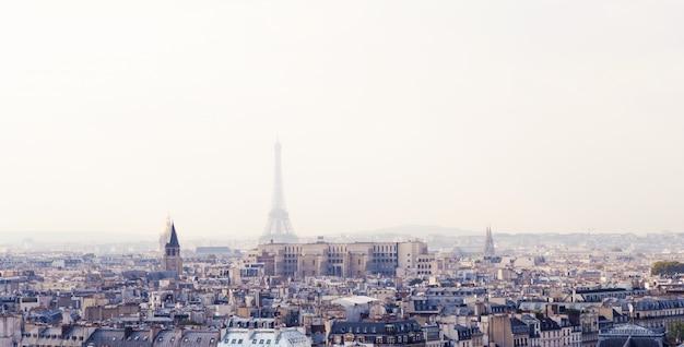 Paris from above Premium Photo