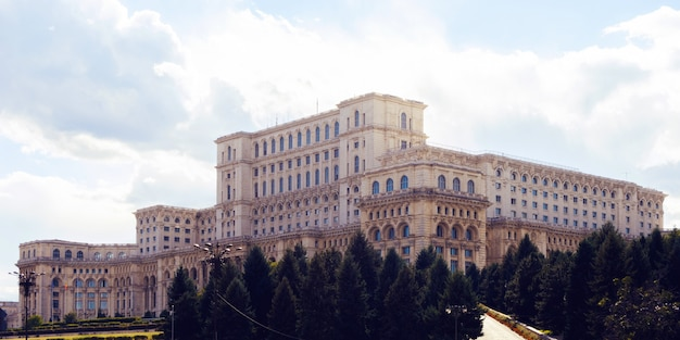Parliament house of romania Premium Photo