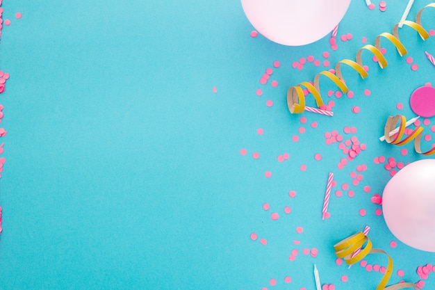 Party or birthday banner with space for text Free Photo