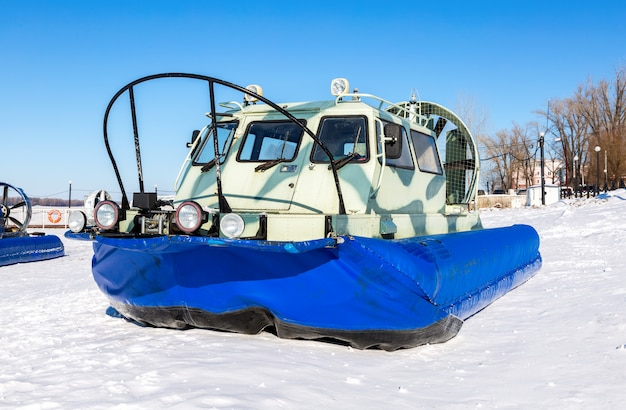 транспортеры на воздушной подушке