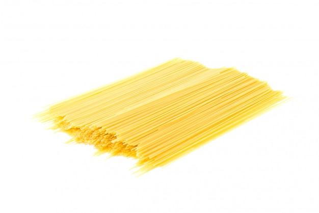 Pasta isolated on white background Free Photo