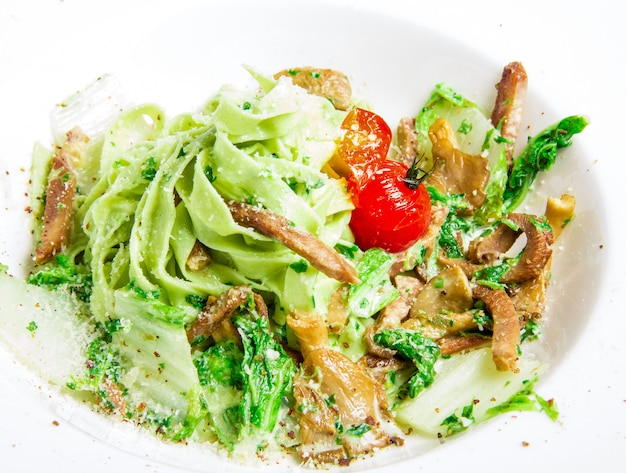 Pasta with  meat Free Photo