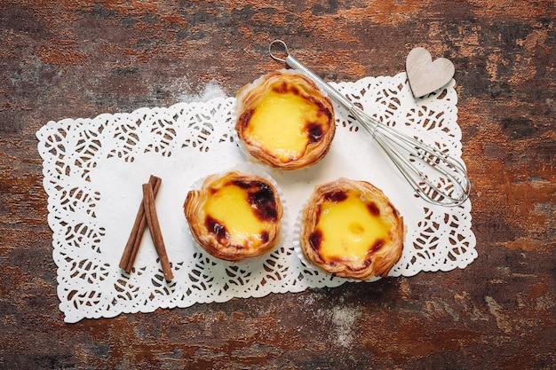 Pasteis de nata Premium Photo
