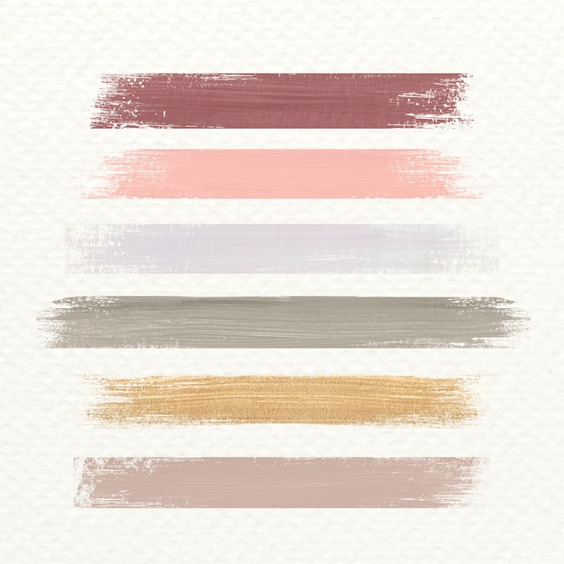 Pastel acrylic brush stroke Free Photo