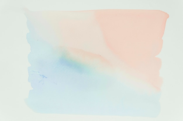 Pastel color brushstroke stains surface Free Photo