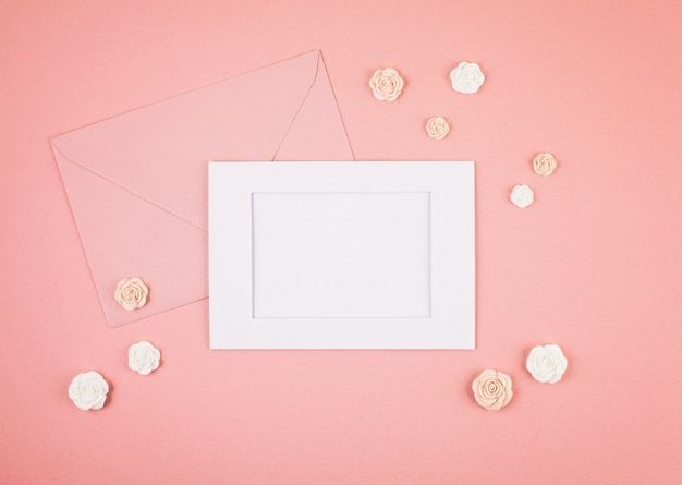 Pastel decorative minimal background Premium Photo