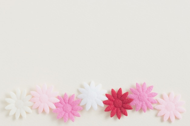 Pastel flower on white color paper background photo premium download pastel flower on white color paper background premium photo mightylinksfo