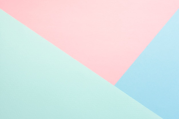 Pastel pack of cardboard sheets Free Photo