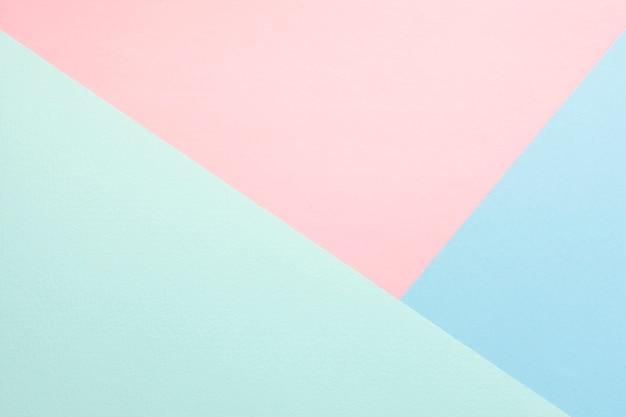 Pastel pack of cardboard sheets Premium Photo