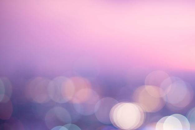 Pastel pink bokeh lights Free Photo