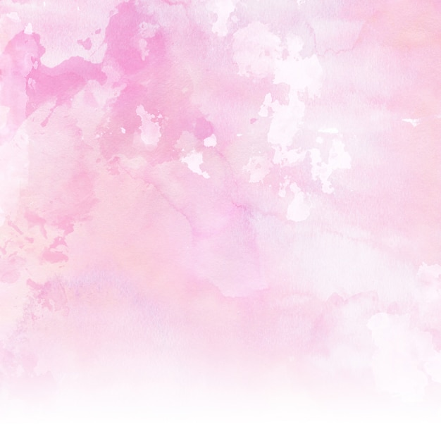 Pastel pink watercolour background Photo | Free Download