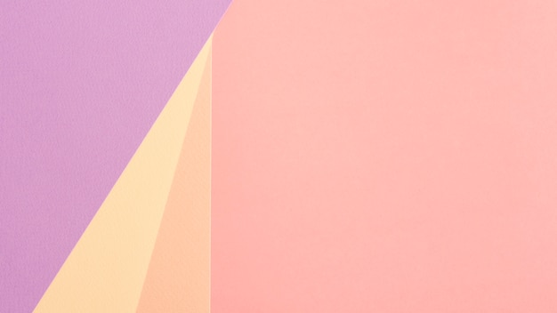 Pastel set of cardboard sheets with copy space Free Photo