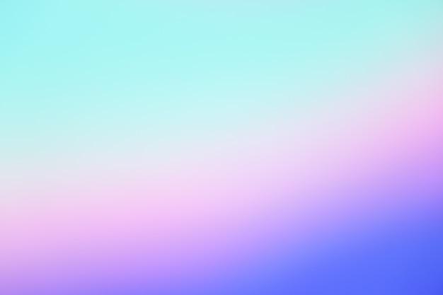 パステルトーンパープルピンクブルーグラデーションデフォーカス抽象写真滑らかなライン Premium写真