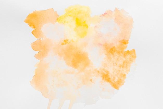 Пастельные желтые акварельные краски копией пространства Бесплатные Фотографии