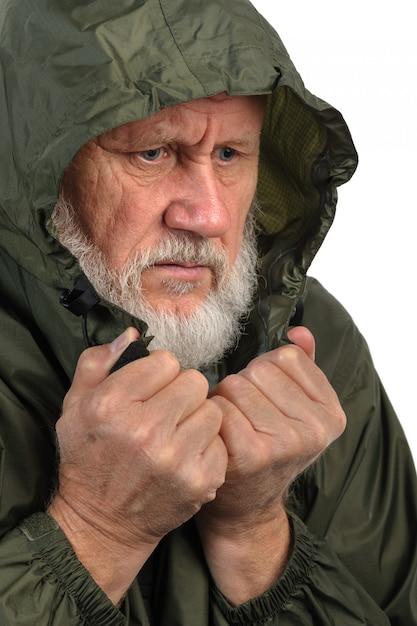 Pathetic senior man Premium Photo