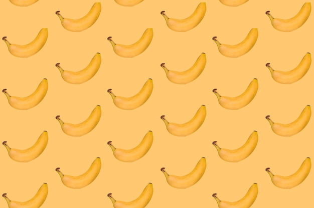 Pattern of delicious banana Free Photo