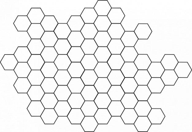 Pattern Tile Hive Hexagon Beehive Bee Free Photo