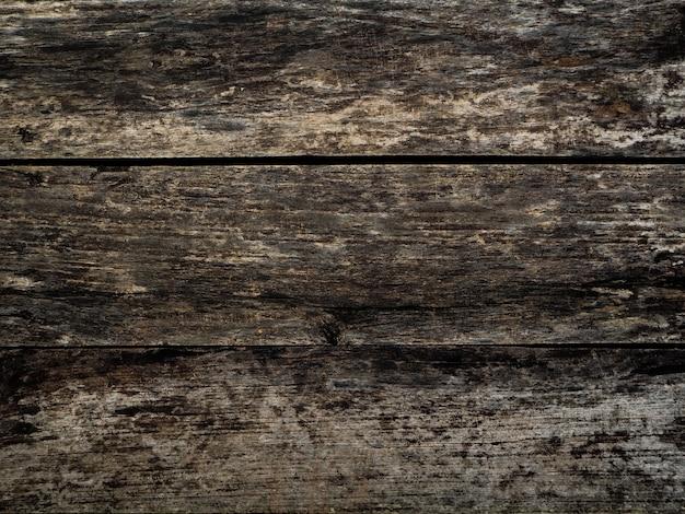 Pattern vintage old wood texture of dark brown wooden for background Premium Photo