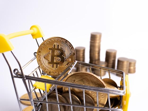 AGORA - Acesta este primul supermarket unde poți plăți cu moneda Bitcoin