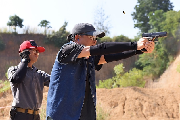 Pda shooting competition