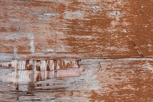 Пилинг состаренной деревянной поверхности Бесплатные Фотографии