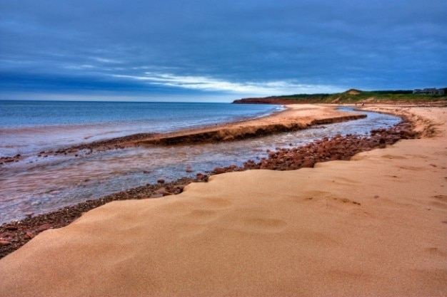 Pei beach scenery   hdr Free Photo