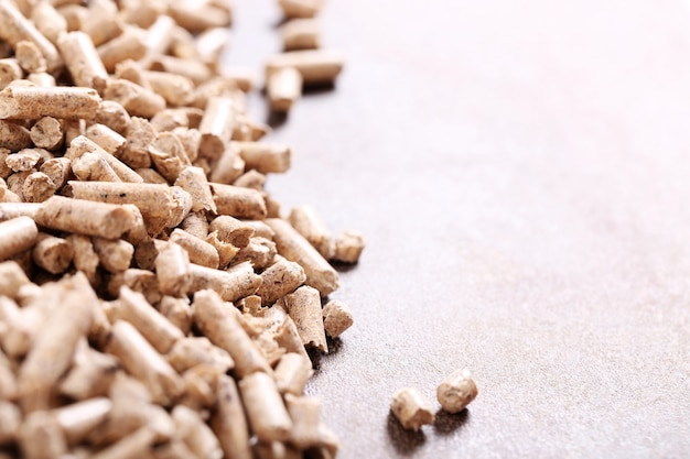 Pellets on surface Free Photo