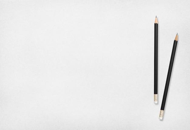 Pencil and paper. Premium Photo