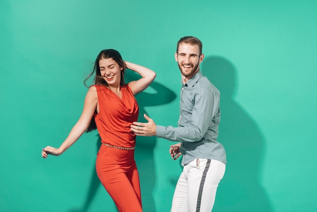 People dancing at a party Free Photo