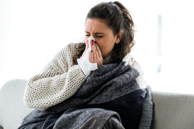 People disease sick care woman Premium Photo
