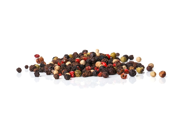 Peppercorns on the table Free Photo