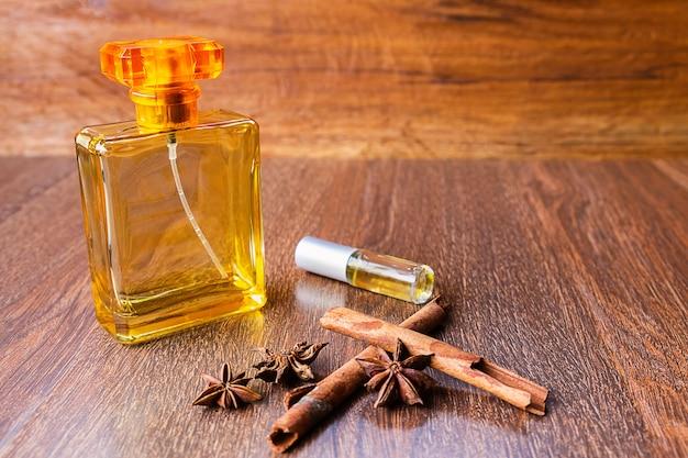 Perfume and perfume bottles Premium Photo