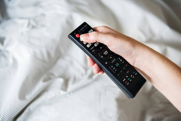 A person carrying a remote controller Free Photo
