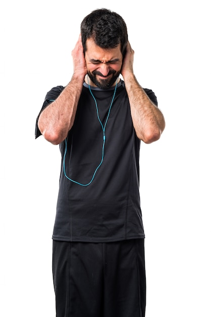 person noise athlete hear fitness Free Photo