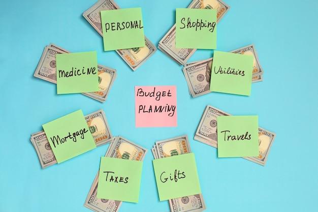 Personal budget planning concept. Premium Photo