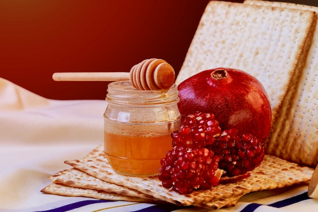 Pesah celebration concept jewish passover holiday Premium Photo