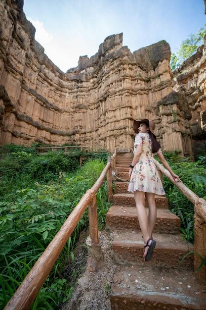 Pha chor (thailand grand canyon) in chiang mai, thailand Premium Photo
