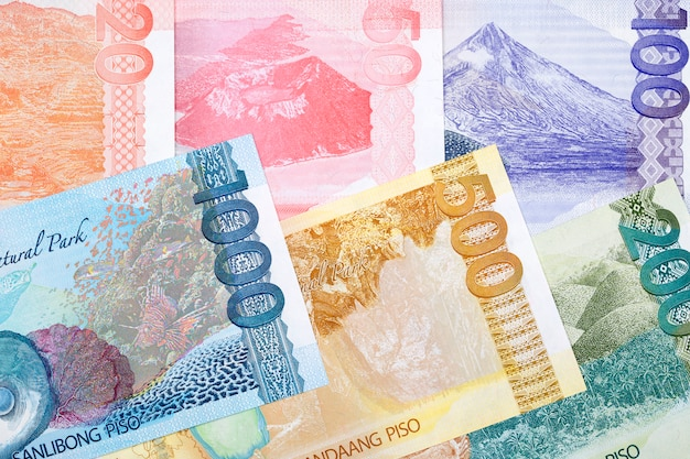 Philippine money Premium Photo