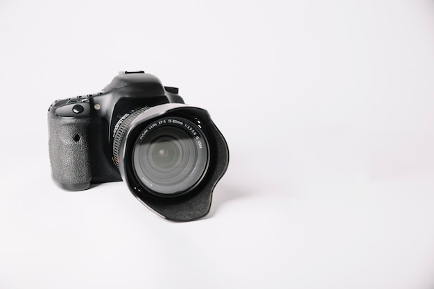 Photo camera in studio Free Photo