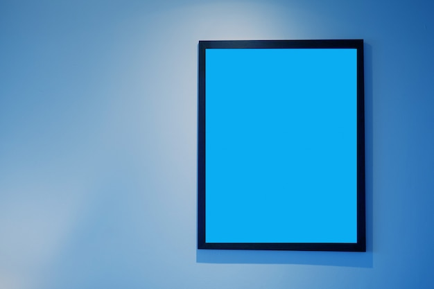 Photo frame, blank frame for text Premium Photo
