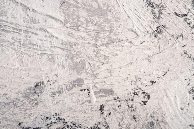 白、灰色、黒のグランジ色、塗料、スプラッシュドロップの背景で創造的な明るいテクスチャサーフェスの写真 Premium写真