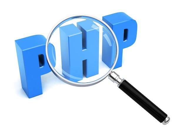 Php search web development Premium Photo