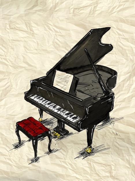 Piano painting image Photo   Free Download