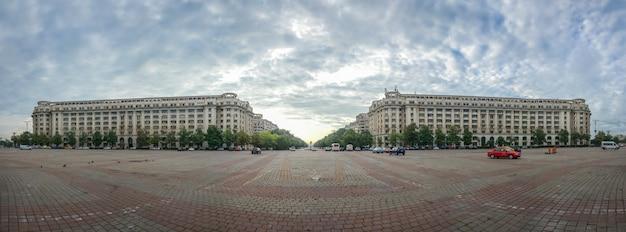 Piata constitutiei, or palace square Premium Photo