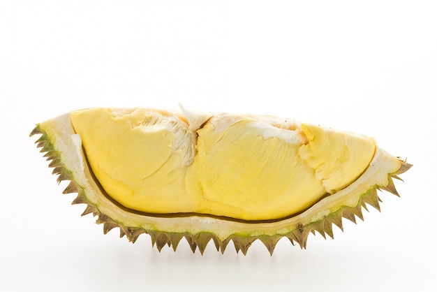 Piece of durian fruit Free Photo