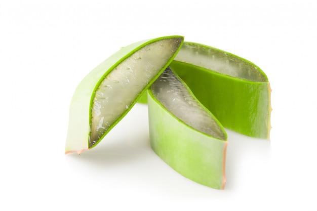 Piece of leaf aloe vera Free Photo