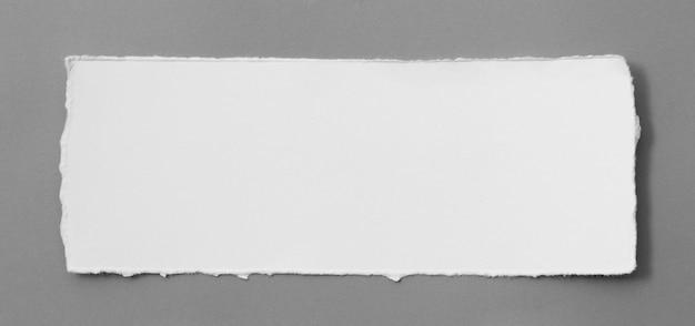 Кусочки рваной бумаги текстуры, скопируйте пространства для текста. Premium Фотографии
