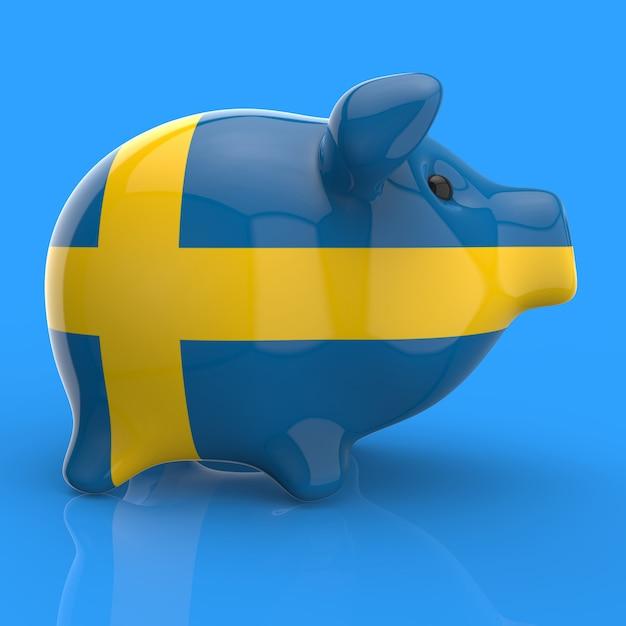 Piggy bank - 3d illustration Premium Photo